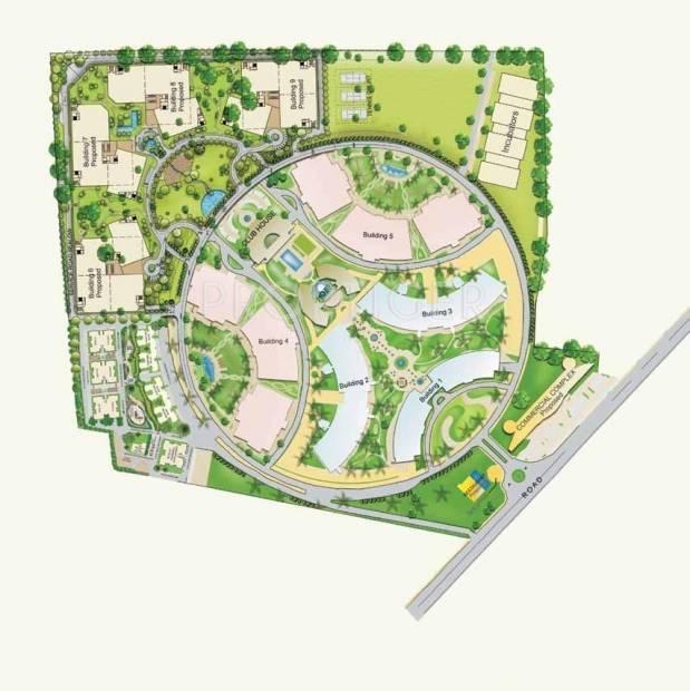 residency Images for Master Plan of Shapoorji Pallonji Residency