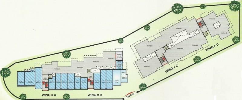 Images for Layout Plan of Mangalmurti Darshan