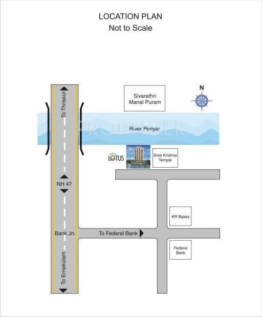 Images for Location Plan of Santhi Lotus