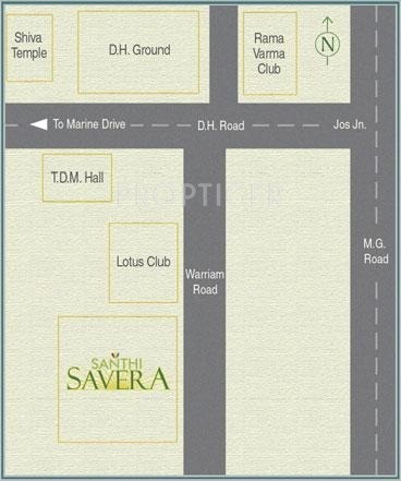 Images for Location Plan of Santhi Savera