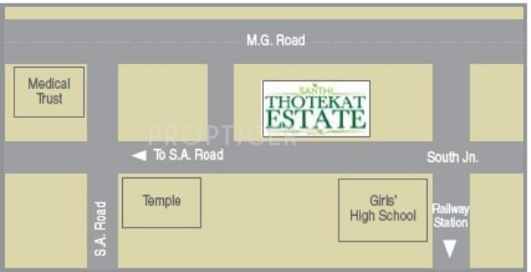 Images for Location Plan of Santhi Thotekat Estate