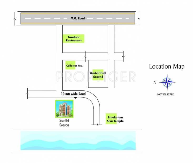 Images for Location Plan of Santhi Sreyas