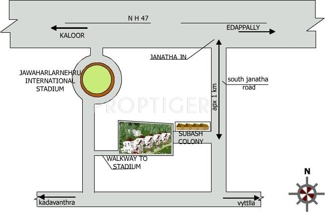 Images for Location Plan of Anvita Builders Heritage