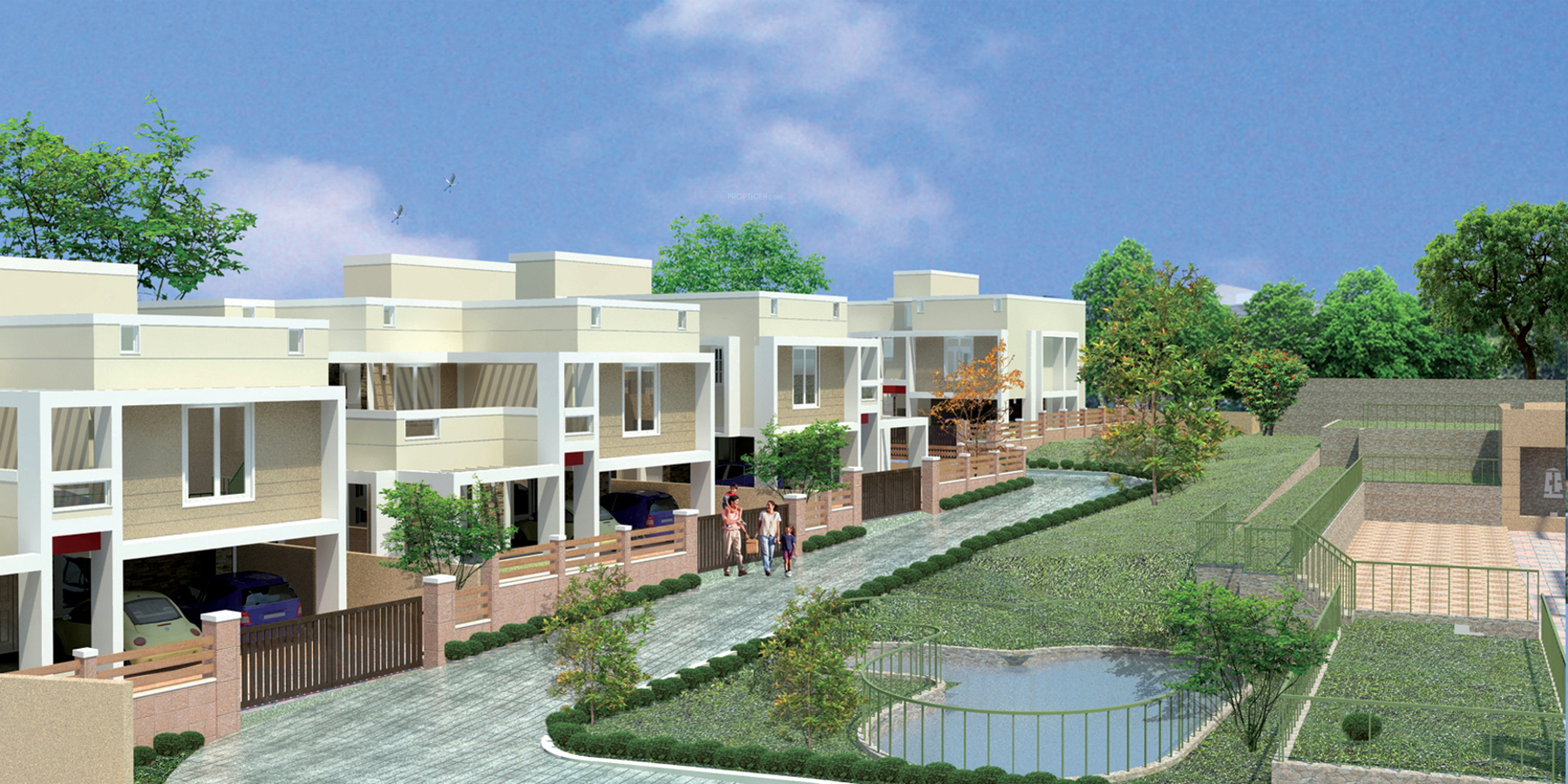 2491 Sq Ft 4 Bhk 4t Villa For Sale In Si Homes Bedford