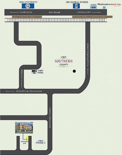 Images for Location Plan of JMM Homes Bell Flower Apartments