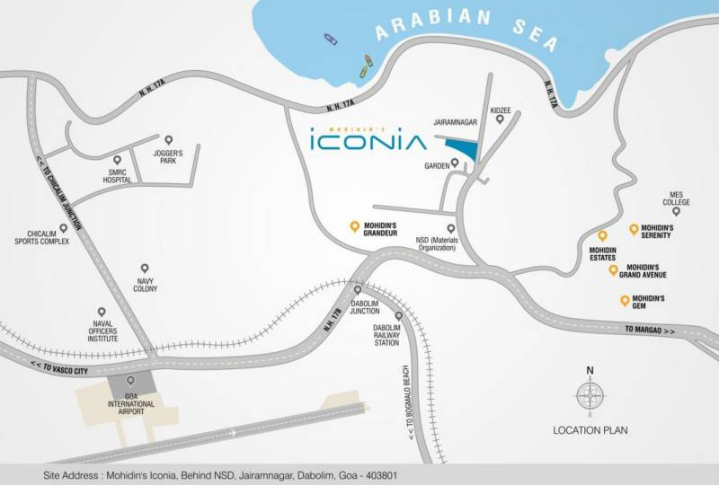 Images for Location Plan of  Iconia