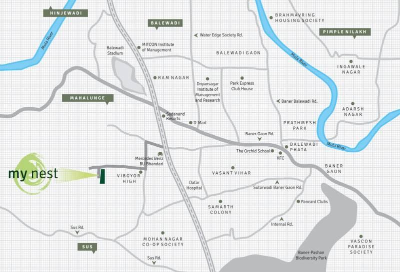 Images for Location Plan of SRK Mynest
