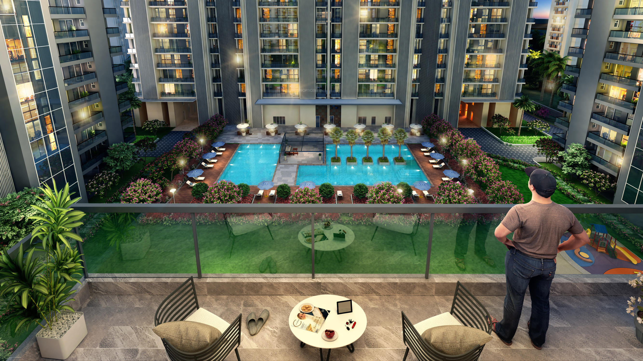 Suncity Platinum Towers In Sector 28 Gurgaon Price