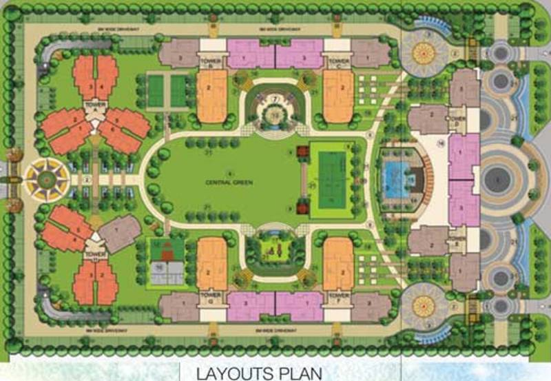 Images for Layout Plan of MS Vrindavan City
