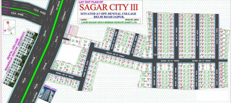 Images for Layout Plan of Mudra Sagar City III