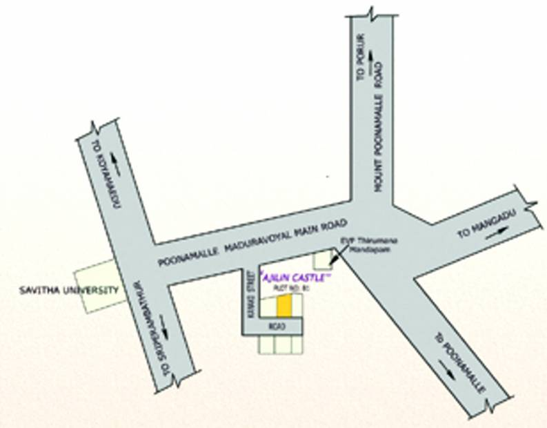 Images for Location Plan of Naveen Ajilin Castle
