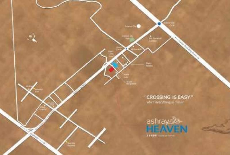 Images for Location Plan of Shree Amthinath Developer LLP Ashray Heaven