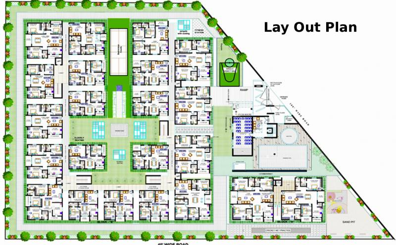 Layout Plan Image of Green Space Housing The Hive for sale ...
