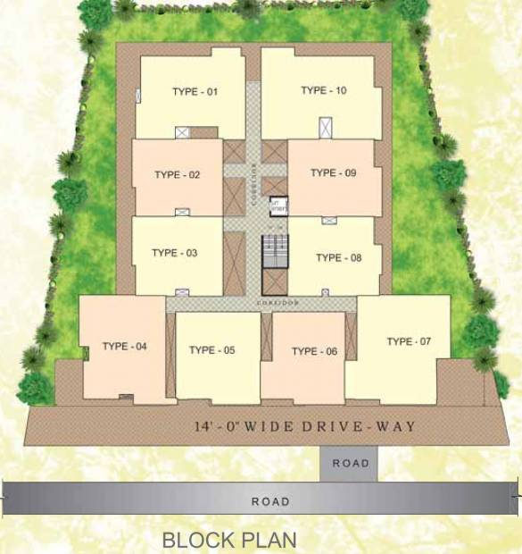 Images for Layout Plan of Vikas Builder And Developer Hills View Meadows