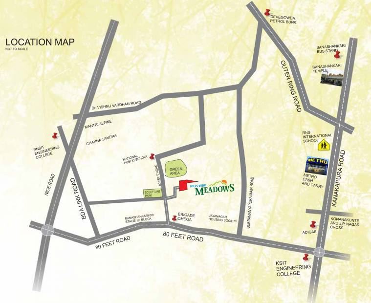 Images for Location Plan of Vikas Builder And Developer Hills View Meadows