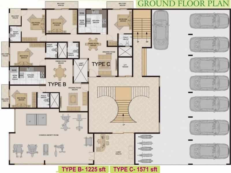 Images for Cluster Plan of Group Prayag