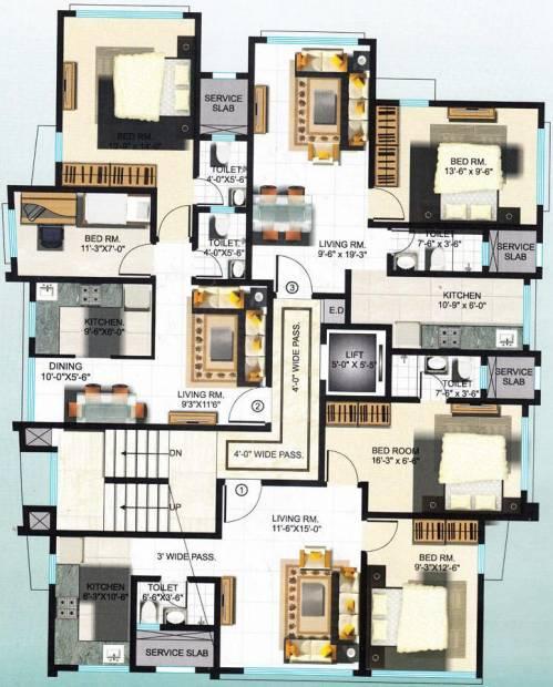 Images for Cluster Plan of KJ Takashshila Nest
