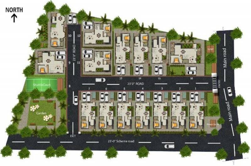 Images for Layout Plan of Sherna Sathyanand Enclave