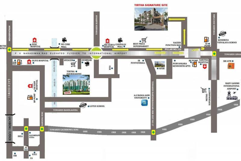 Images for Location Plan of Tirtha Signature 2