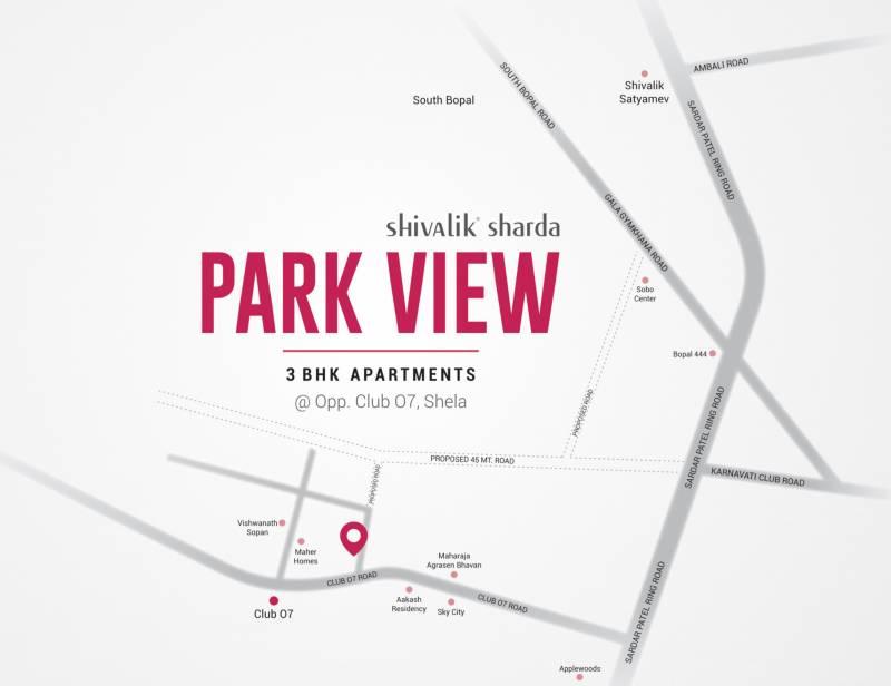 sharda-parkview2 Images for Location Plan of Shivalik Sharda Park View