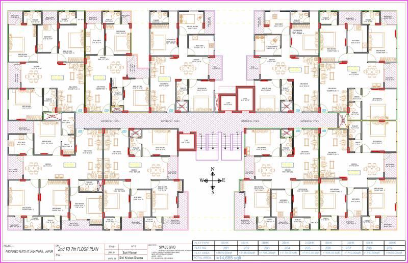 Images for Cluster Plan of Vishwaas Vishwaas Aashiyana