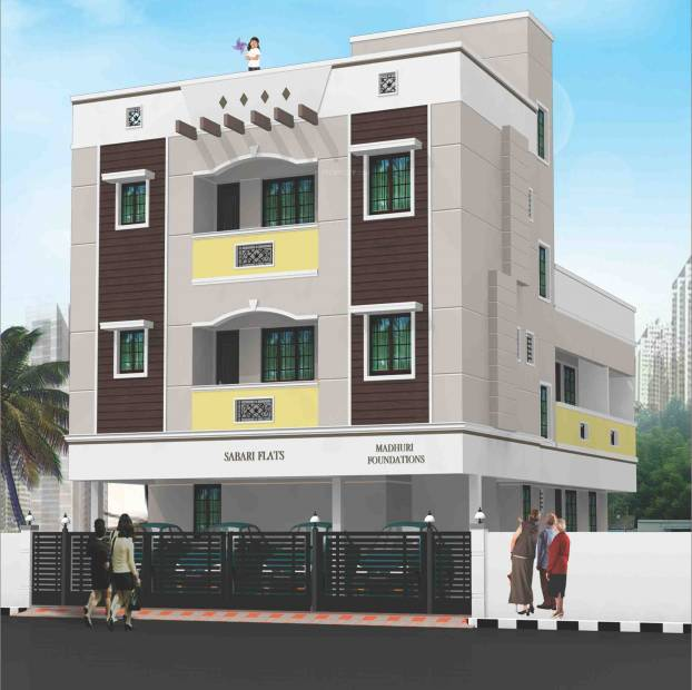 Images for Elevation of Madhuri Sabari Flats