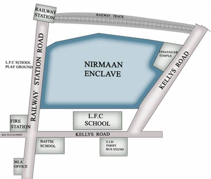 Images for Location Plan of Shree Nirmaan Arihant Nirmaan Enclave