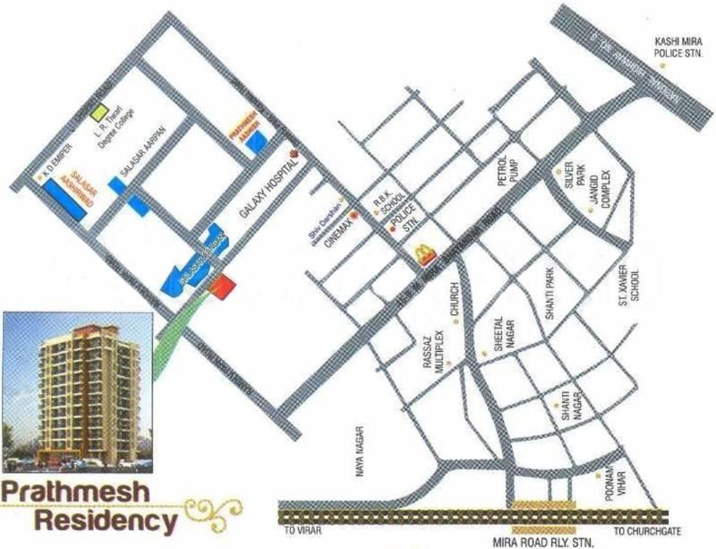 Images for Location Plan of Prathmesh Prathmesh Residency