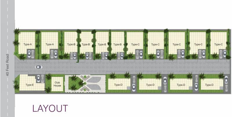 Images for Layout Plan of Brahmha Bauhinia Villas