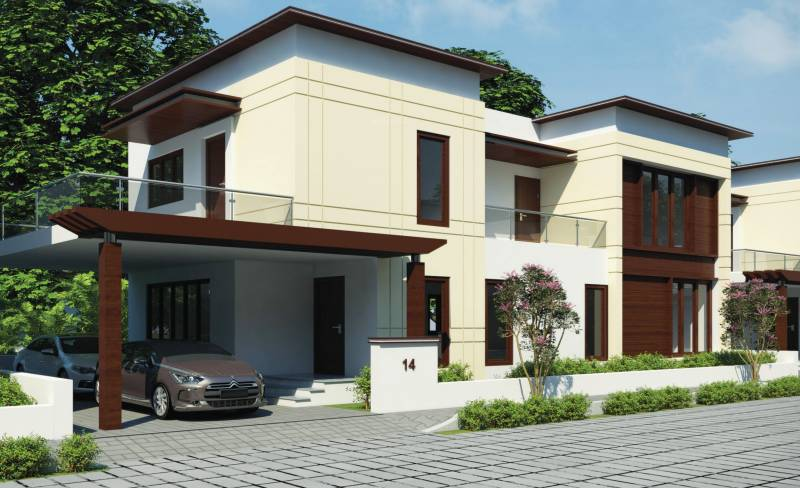 Images for Elevation of Brahmha Bauhinia Villas