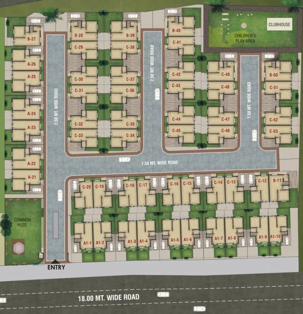 Images for Layout Plan of Aadhya Aura
