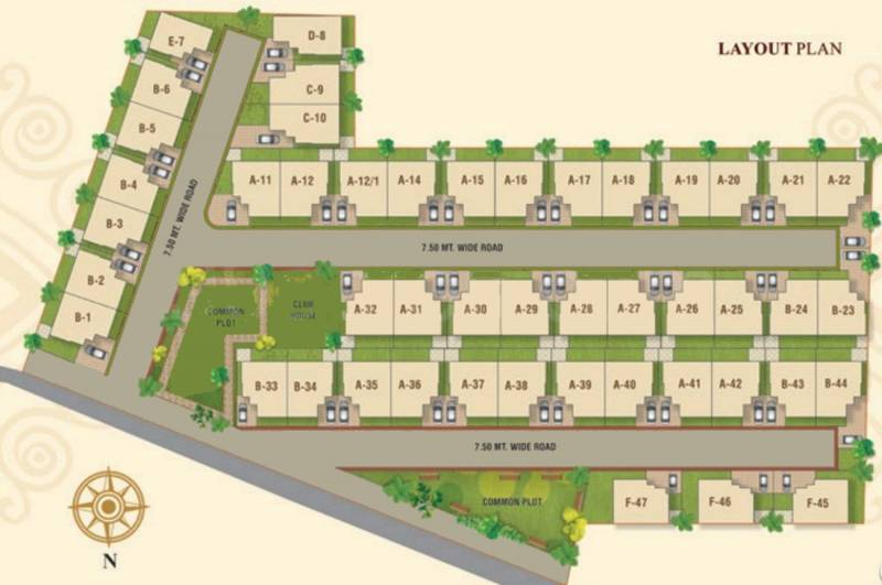 Images for Layout Plan of Aadhya Group Amenora