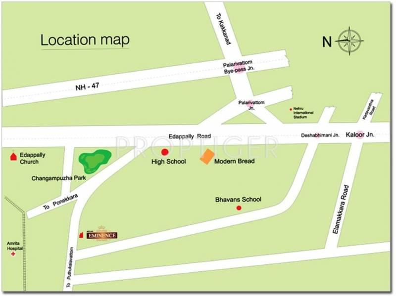 eminence Images for Location Plan of Skyline Eminence