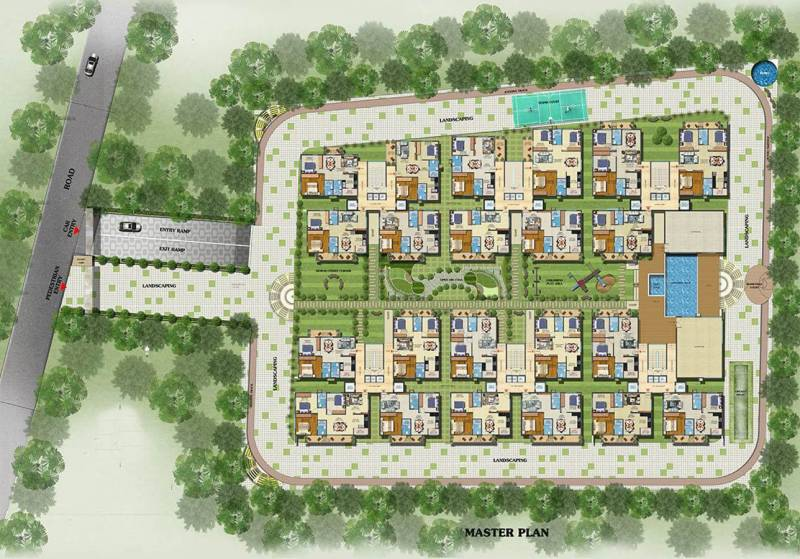Images for Site Plan of Estella Maple Square A