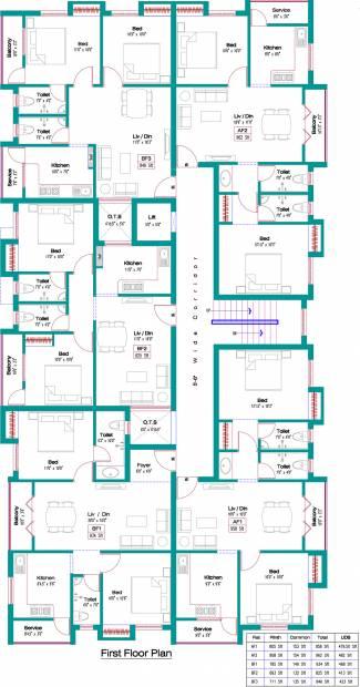 Images for Cluster Plan of Jeni Joel Brindavan
