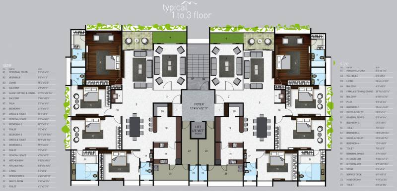 Images for Cluster Plan of Krrish Maurya Grace