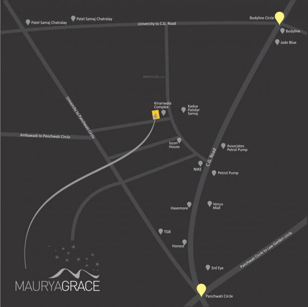 Images for Location Plan of Krrish Maurya Grace