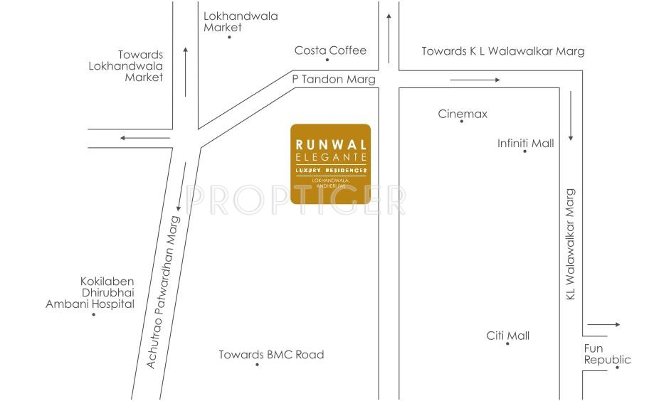 Runwal Elegante in Andheri West, Mumbai - Price, Location