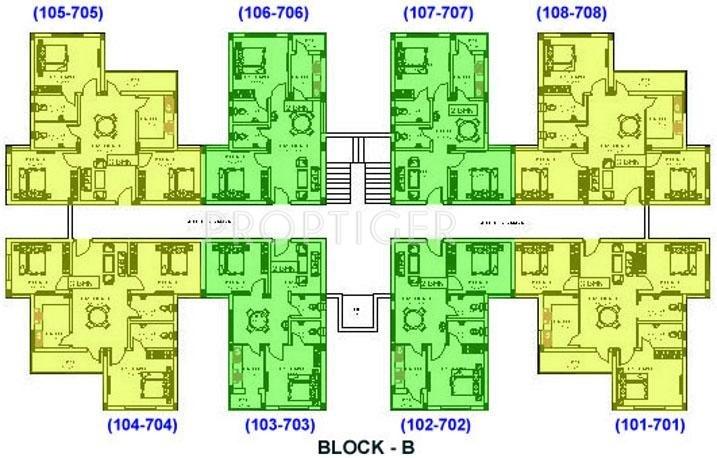 Images for Cluster Plan of Green India Pariwar Green Jasmin