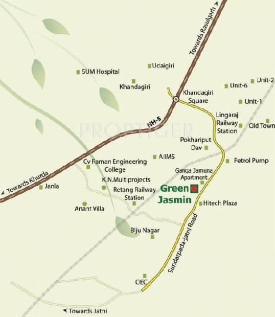 Images for Location Plan of Green India Pariwar Green Jasmin