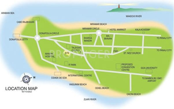CV Constructions Darius Avenue Location Plan