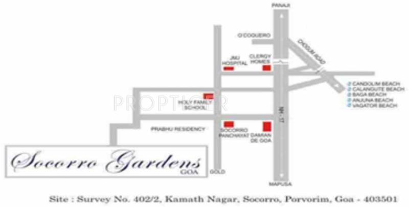 Images for Location Plan of Nitin Socorro Gardens