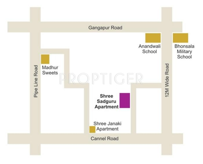Images for Location Plan of Janaki Shri Sadguru Apartment