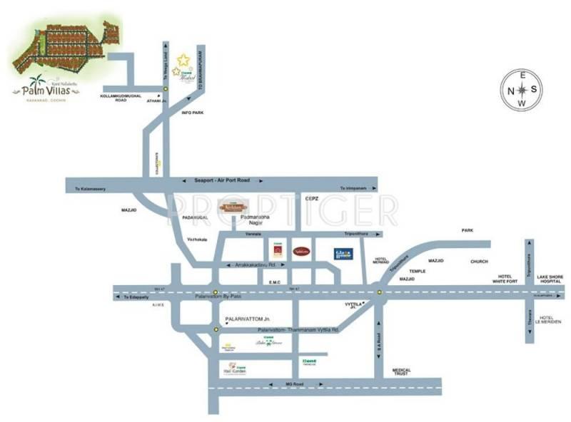 Images for Location Plan of Kent Nalukettu Palm Villas