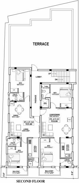 Images for Cluster Plan of HPK Star Property Developer Ellora