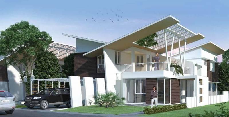 Images for Elevation of Elegant Villa Mystica