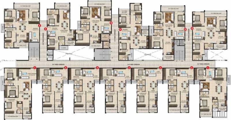 Images for Cluster Plan of SMR Vinay Estella