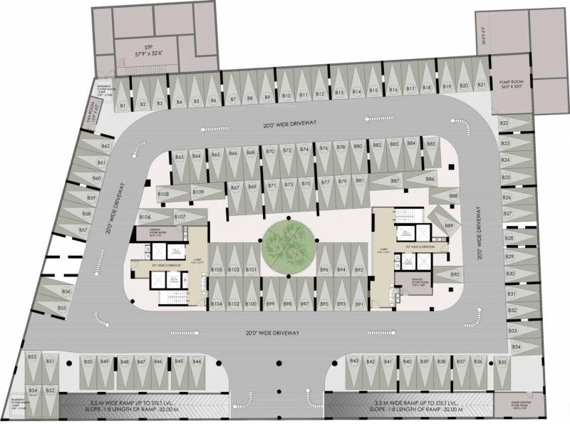 Images for Cluster Plan of Lokaa M One