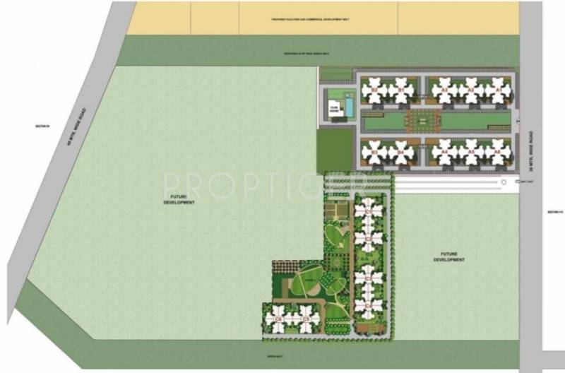 unihomes-3 Images for Master Plan of Unitech Unihomes 3