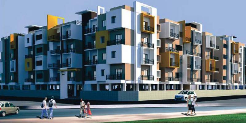 Images for Elevation of Avigna Celeste Apartment